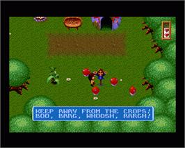 In game image of Legends on the Commodore Amiga.