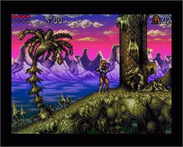 In game image of Lionheart on the Commodore Amiga.