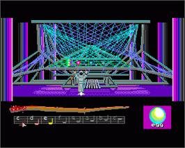 In game image of Loom on the Commodore Amiga.
