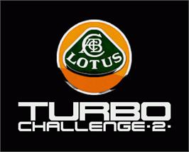 In game image of Lotus Turbo Challenge 2 on the Commodore Amiga.