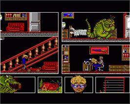 In game image of MOT on the Commodore Amiga.
