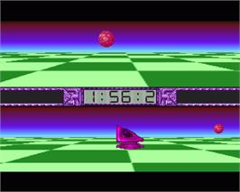 In game image of Master Blazer on the Commodore Amiga.