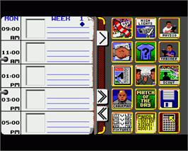 In game image of Match of the Day on the Commodore Amiga.