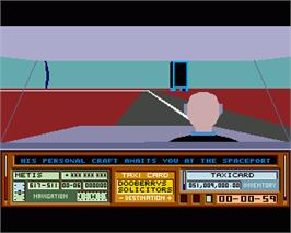 In game image of Mercenary III : The Dion Crisis on the Commodore Amiga.