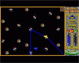 In game image of Mind Bender on the Commodore Amiga.