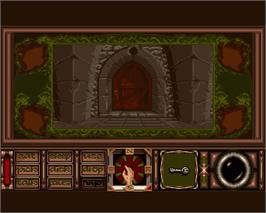 In game image of Obitus on the Commodore Amiga.
