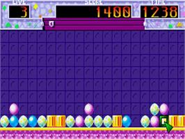 In game image of Pick 'n' Pile on the Commodore Amiga.