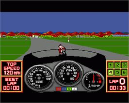 In game image of Pocket Rockets on the Commodore Amiga.