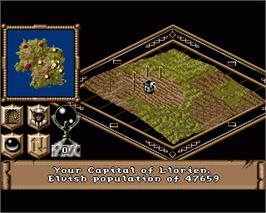 In game image of Realms on the Commodore Amiga.