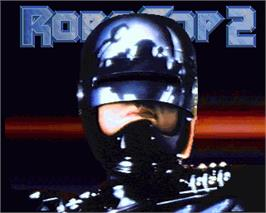 In game image of Robocop 2 on the Commodore Amiga.