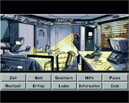 In game image of Skyworker on the Commodore Amiga.