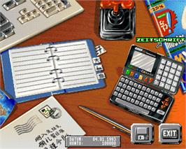 In game image of Software Manager on the Commodore Amiga.