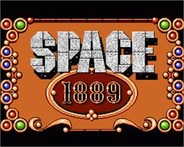 In game image of Space 1889 on the Commodore Amiga.