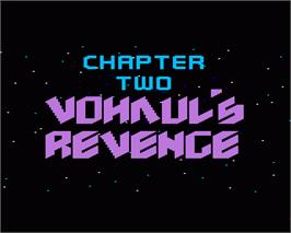 In game image of Space Quest II: Vohaul's Revenge on the Commodore Amiga.