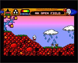 In game image of Spellbound Dizzy on the Commodore Amiga.