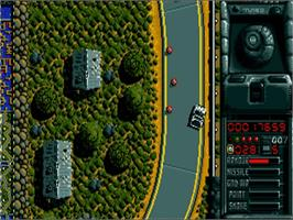 In game image of Spy Who Loved Me on the Commodore Amiga.
