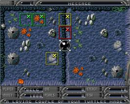 In game image of Subtrade: Return to Irata on the Commodore Amiga.