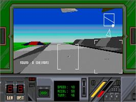 In game image of Thunder Strike on the Commodore Amiga.