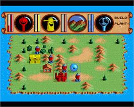 In game image of Traders: The Intergalactic Trading Game on the Commodore Amiga.