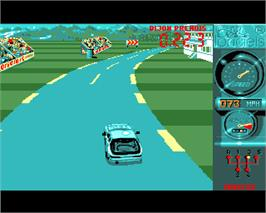 In game image of Turbo Cup on the Commodore Amiga.
