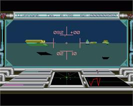 In game image of Voyager on the Commodore Amiga.