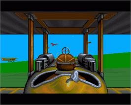 In game image of Wings on the Commodore Amiga.