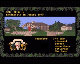 In game image of Winzer on the Commodore Amiga.