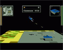 In game image of Zeewolf on the Commodore Amiga.