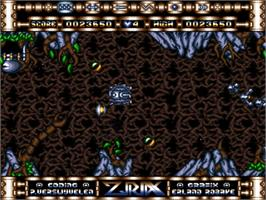 In game image of Ziriax on the Commodore Amiga.