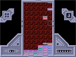 In game image of Zyconix on the Commodore Amiga.