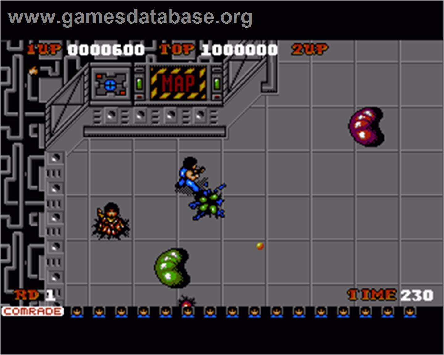 Alien syndrome commodore amiga games database for Alien syndrome