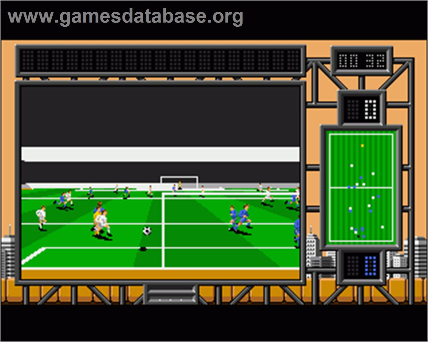 International Soccer Challenge - Commodore Amiga - Artwork - In Game