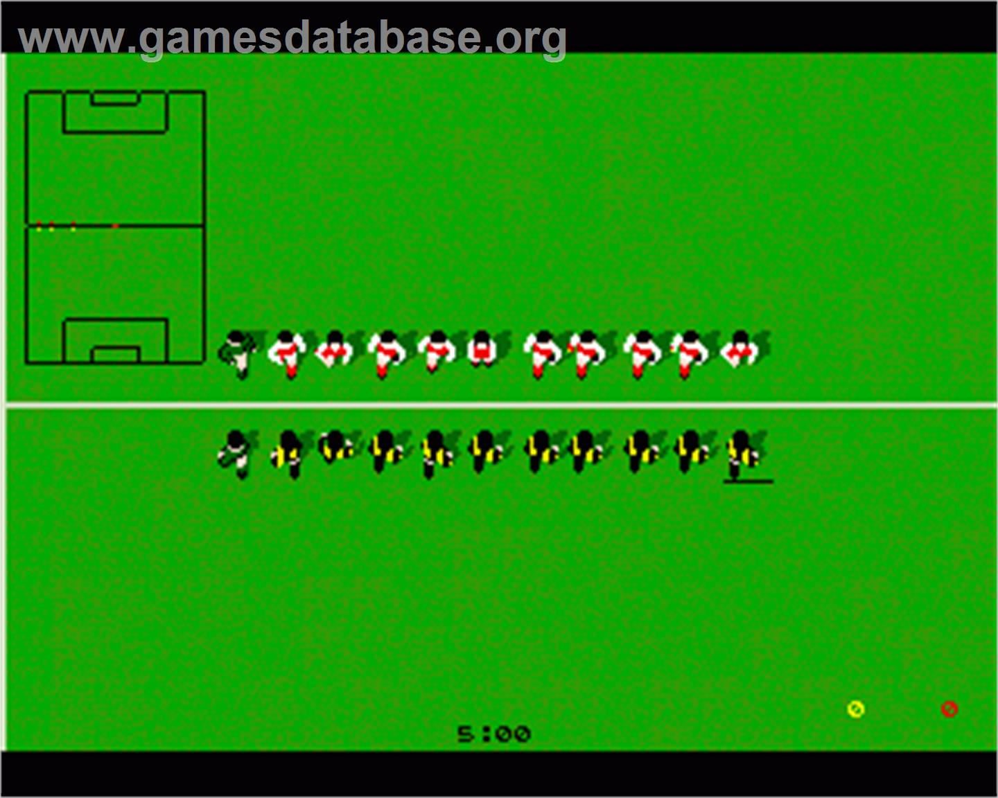 Kick Off 2 The Final Whistle Commodore Amiga Artwork In Game