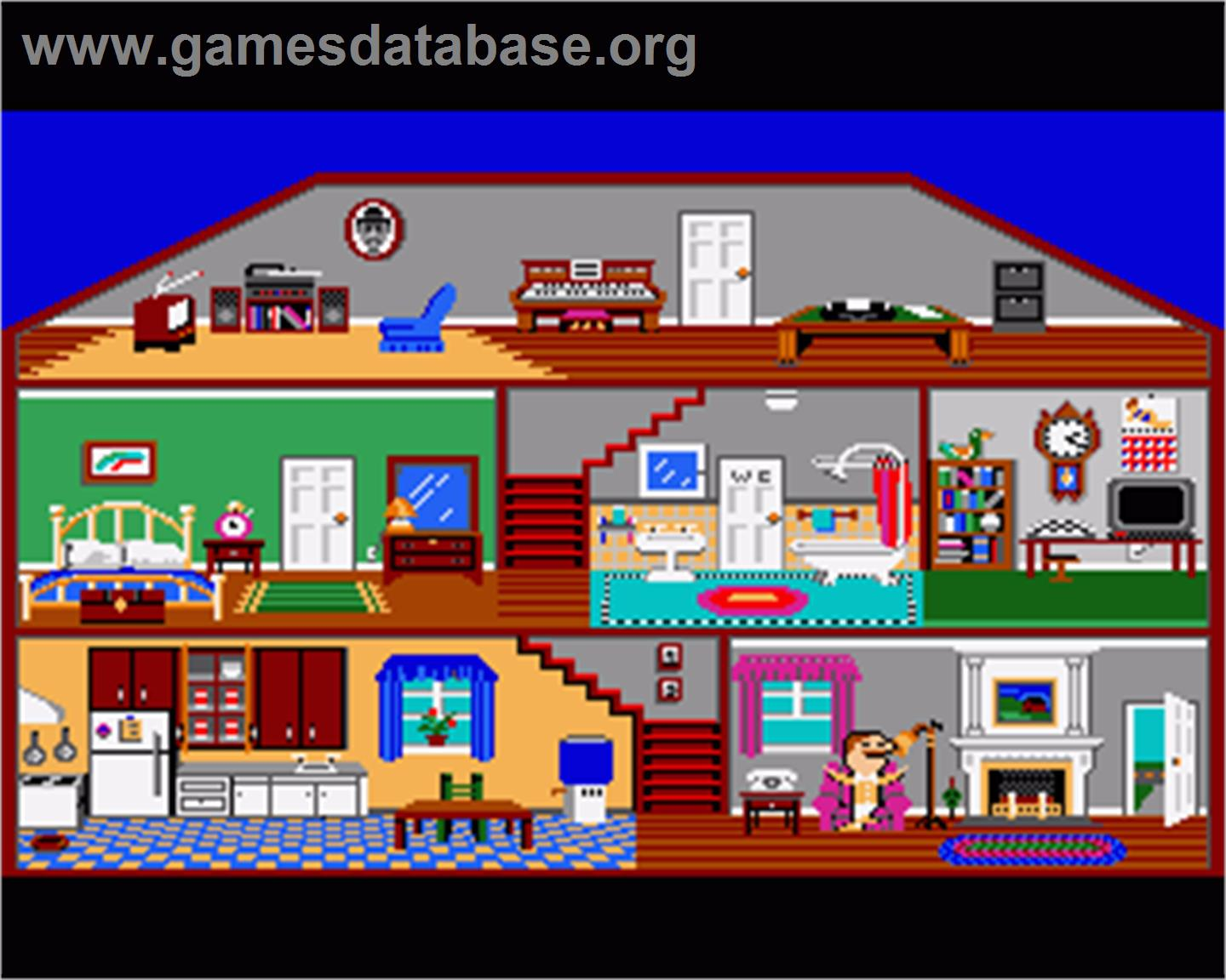Little computer people commodore amiga games database for Food bar games free online