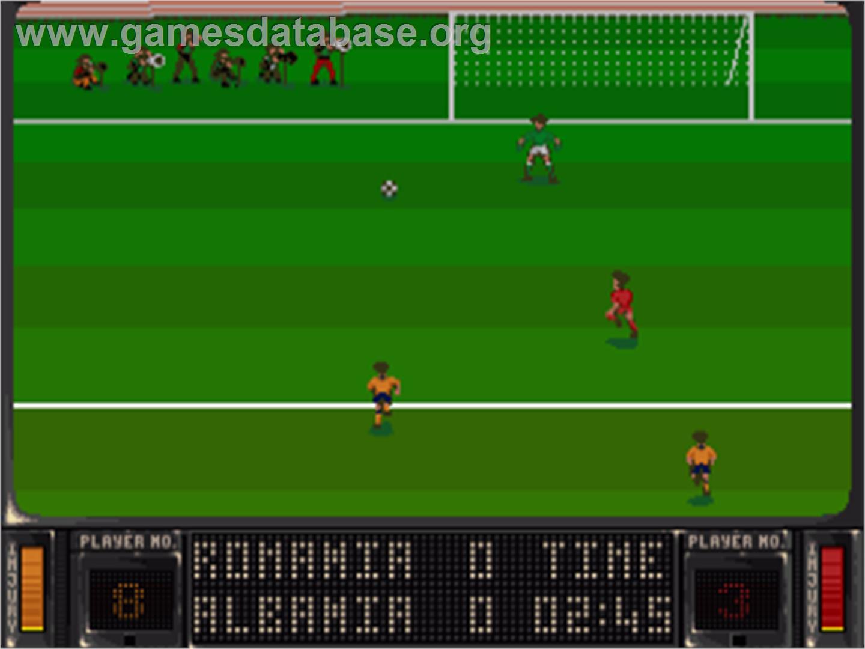 Striker football game amiga