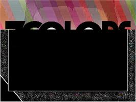 Title screen of 7 Colors on the Commodore Amiga.