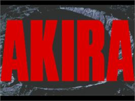 Title screen of Akira on the Commodore Amiga.