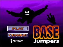 Title screen of Base Jumpers on the Commodore Amiga.