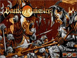 Title screen of Battle Master on the Commodore Amiga.