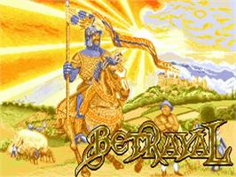 Title screen of Betrayal on the Commodore Amiga.
