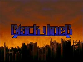 Title screen of Black Viper on the Commodore Amiga.
