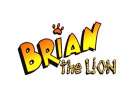 Title screen of Brian the Lion on the Commodore Amiga.