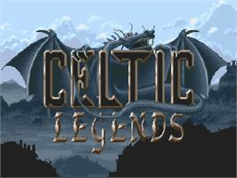 Title screen of Celtic Legends on the Commodore Amiga.
