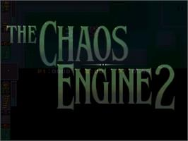 Title screen of Chaos Engine 2 on the Commodore Amiga.