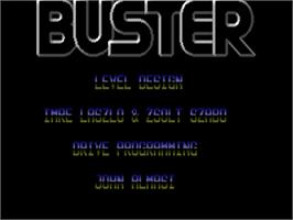 Title screen of Color Buster on the Commodore Amiga.