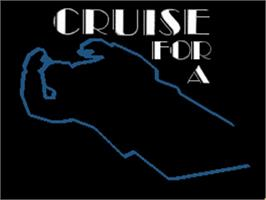 Title screen of Cruise for a Corpse on the Commodore Amiga.