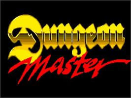 Title screen of Dungeon Master: Chaos Strikes Back - Expansion Set #1 on the Commodore Amiga.