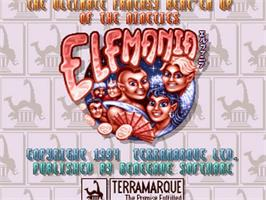 Title screen of Elfmania on the Commodore Amiga.