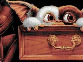 Title screen of Gremlins 2: The New Batch on the Commodore Amiga.