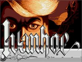 Title screen of Ivanhoe on the Commodore Amiga.